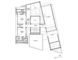 Floor Plans With Secret Passages The Skewed House Lijo Reny Architects Archdaily