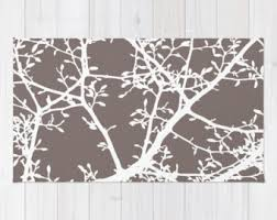 turquoise area rug contemporary tree branches area rug