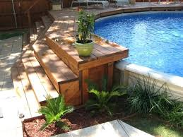 Backyard Above Ground Pool Ideas Above Ground Pool Ideas For Small Yards Our Backyard Oasis A