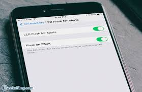 turn light on iphone how to enable led flash light for texts and calls alerts on iphone