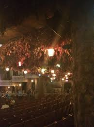 The Winter Garden Theater - some of the ceiling of the winter garden theatre you can see the