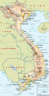 carte du vietnam vacances arts guides voyages