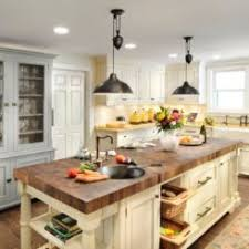 kitchen islands with butcher block tops wood countertops bring warmth to any style kitchen