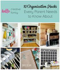Organizatoin Hacks 10 Organization Hacks For Parents