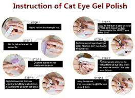 amazon com gellen 3d cat eye series uv gel nail polish set 10ml