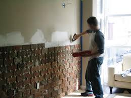 How To Build An Interior Wall Best 25 Interior Brick Walls Ideas On Pinterest Diy Interior