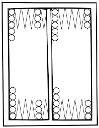 backgammon coloring page handipoints