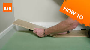 B And Q Flooring Laminate How To Lay Laminate Flooring Youtube