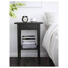 nightstand beautiful ikea hemnes nightstand black brown