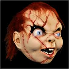 Bride Chucky Halloween Costumes Official Child U0027s Play Bride Chucky Mask Mad Horror