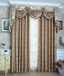 Gorgeous Curtains And Draperies Decor 2016 Fashion Jacquard Curtains Gold Beautiful Drapes Tulles And