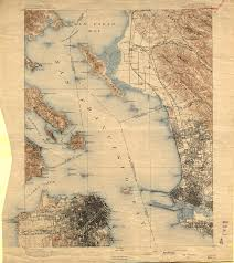 San Francisco Bay Map by Historic Topographic Maps Of California San Francisco Bay Region