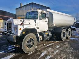mack trucks for sale 1990 mack rd688sx tandem axle tanker truck for sale by arthur