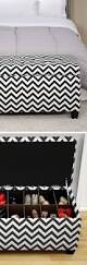 furniture simple ideas of houndstooth ottoman for living room