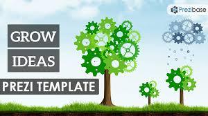 grow ideas prezi template prezibase