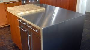 stainless steel topped kitchen islands metal top kitchen island pertaining to the house eyeofislamabad