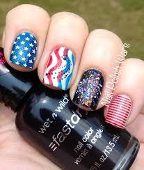 nail polish wars happy fourth of july