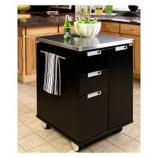 Crosley Kitchen Cart Granite Top Furniture Amusing Stenstorp Kitchen Island Black Cart Granite