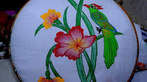 bed sheet n craft paint art bedsheet designs for fabric painting