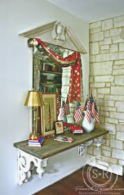 4th of july home decor serendipity refined blog farmhouse 4th of july foyer decorating