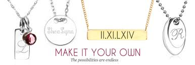 personalized necklace for personalized necklaces for engraved necklaces for