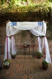 wedding arch pvc pipe pvc pipe and potted plant chuppah frame 6 steps