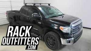 toyota tundra rack toyota tundra cab with yakima baseline jetstream roof rack