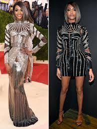 jordan dunn silver hair jourdan dunn explains her two met gala 2016 balmain looks people com