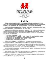 dyslexia writing paper word version andorra pediatrics