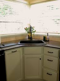 Small Corner Sinks Corner Kitchen Sink Designs Home And Interior