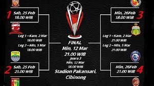 Jadwal Piala Presiden 2018 Ini Jadwal Semifinal Piala Presiden 2018 Infosulsel