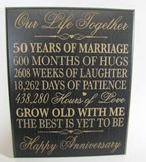 words of wisdom for the happy couple50th anniversary centerpieces 50th wedding anniversary wall plaque gifts for 50th