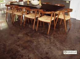 color cap interior flooring concrete coatings overlays acid