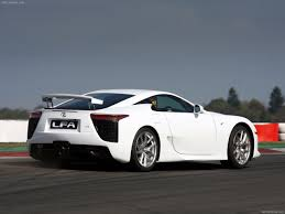 lexus sports car white lexus lfa wallpaper and background 1280x960 id 117081