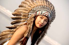 Native American Inspired Clothing On Sale Feathers Indian Headdress Replica Warbonnet Native