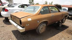 chevy vega junkyard treasure 1976 chevrolet vega notchback autoweek