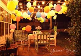 Lights For Backyard by Backyards Enchanting Outdoor A Lantern Light Party 130 Lights