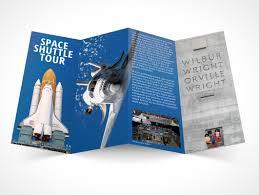 brochure 4 fold template flyer003 market your psd mockups for flyer