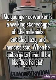 Lazy Coworker Meme - younger coworker is a walking stereotype of the millenials