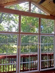 Windows Sunroom Decor Decor Open Space Room Using Eze Breeze Product U2014 Citycollegeinc Com