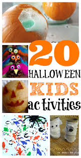 Fun Easy Halloween Crafts by 20 Halloween Activities For Toddlers Scary Activities And