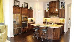 White Knotty Alder Cabinets Choose Flooring That Compliments Cabinet Color Burrows Cabinets