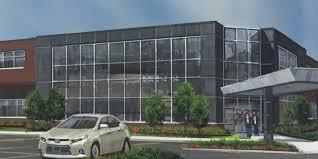 toyota headquarters usa toyota u0027s commercial truck division begins novi hq