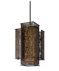 corbett lighting 105 75 shoji 22 inch wide foyer pendant capitol