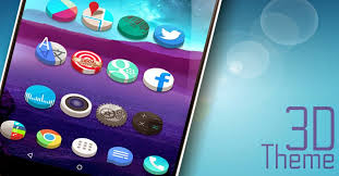 clock themes for android mobile themes for android 3d icon pack to go launcher action launcher nova