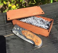 Personalized Pocket Knife The 25 Best Wooden Pocket Knife Ideas On Pinterest Engraved