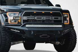 Classic Ford Truck Bumpers - buy 2017 2018 ford raptor honeybadger winch front bumper