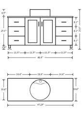 Standard Height For Bathroom Vanity by What Is The Standard Height Of A Bathroom Vanity Vessel Sink