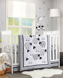 nojo good night sheep crib bedding collection bed in a bag bed