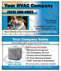 Commercial Business Card Printer 8 Best Hvac Business Cards Images On Pinterest Business Cards